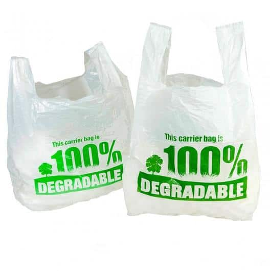 Degradable Vest Style Carrier Bags (Box of 2000)