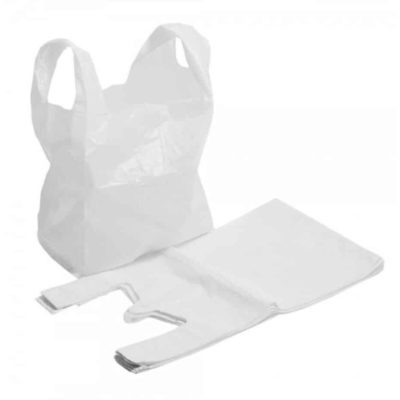 White Vest Style Carriers (Box of 2000)